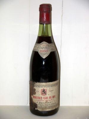 Mercurey Clos du roy 1955 Domaine Faiveley