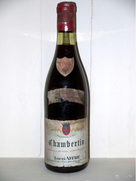 Chambertin 1966 Maison Louis Affre