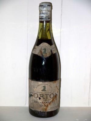 Corton Bressandes 1950 Domaine Jaboulet-Vercherre