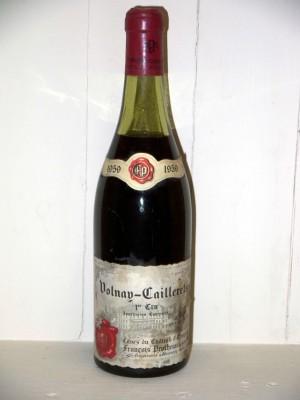 Millesime prestige Volnay Volnay-caillerets 1er cru 1959 Domaine François Protheau