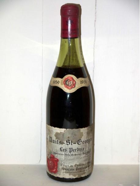 Nuits-Saint-Georges Les perdrix 1959 Domaine François Protheau