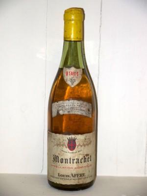 Grands crus Chassagne-Montrachet - Puligny-Montrachet Montrachet 1964 Maison Louis Affre