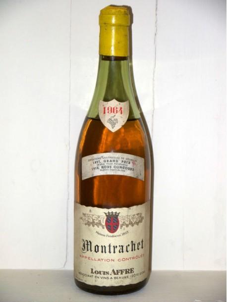 Montrachet 1964 Maison Louis Affre