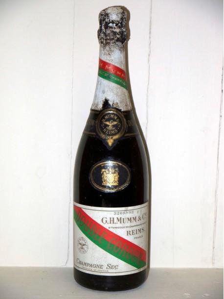 Champagne Mumm double cordon présumé années 1930/1940
