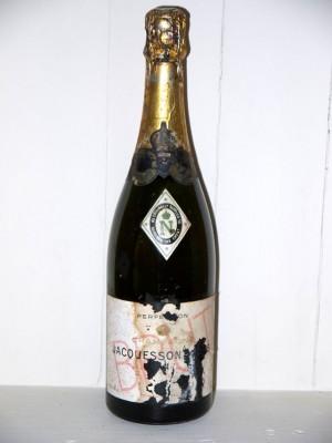 Champagne Jacquesson et fils brut perfection présumé années 1960/1970