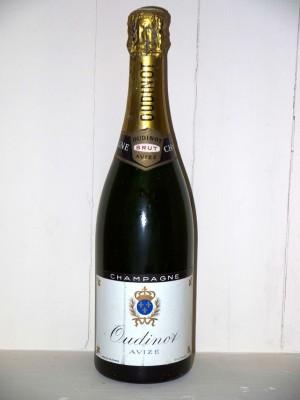 Champagne Oudinot brut Blanc de Blancs présumé années 1960/1970