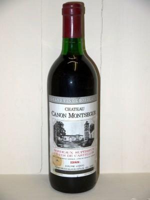 Château Canon Montsegur 1988
