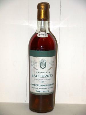 Grand vin de sauternes 1948 J. Marcel Borie-Manoux