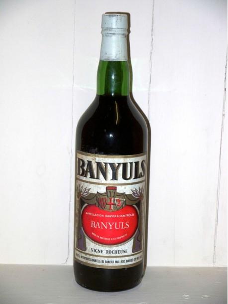Banyuls vigne rocheuse société interprofessionnelle du Banyuls Mas Reig présumé années 1950