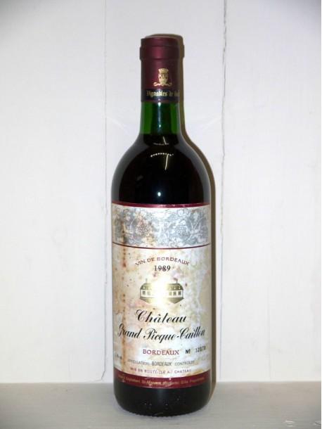 Château Grand Picque-Caillou 1989