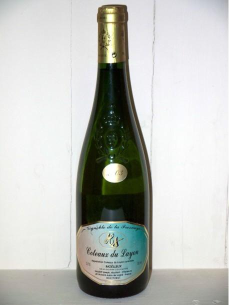 Vignoble de Lafresnaye Coteaux du Layon moëlleux 2003 Domaine Halbert Joseph