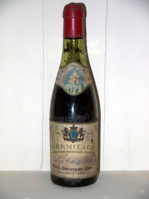 Vins de collection Hermitage Hemitage la chapelle 1947 Domaine Paul Jaboulet Ainé