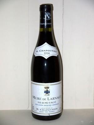 """Vins de collection Hermitage Hermitage """"mure de larnâge"""" 1996 Domaine M Chapoutier"""