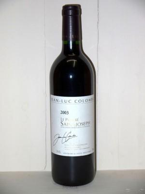 """Grands vins Saint-Joseph Saint-Joseph """"Le prieuré"""" 2003 Domaine Jean Luc Colombo"""