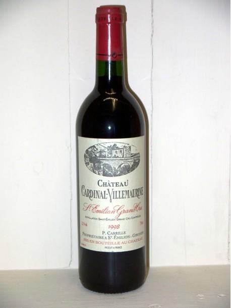 Château Cardinal-Villemaurine 1998