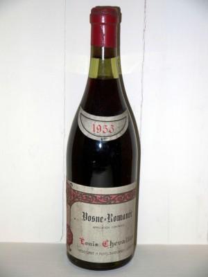 Vosne romanée 1955 Louis Chevalier