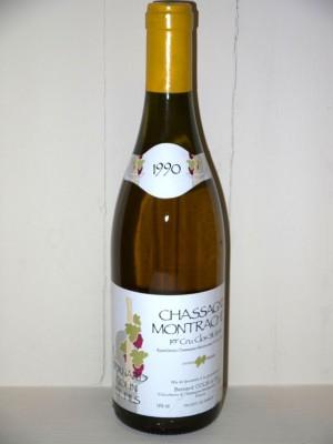Vins anciens Chassagne-Montrachet - Puligny-Montrachet Chassagne Montrachet 1 er cru Clos Saint-Jean 1990 Colin