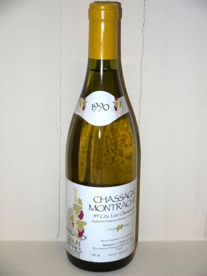 Chassagne Montrachet 1 er cru Les Chenevottes 1990 Colin