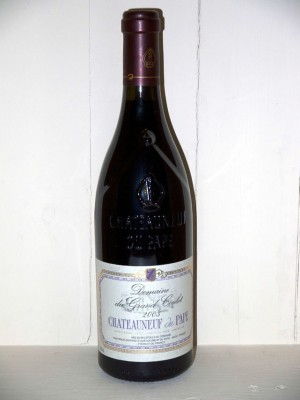 Grands crus Saint-Joseph Chateauneuf du Pape Domaine du grand Coulet 2003