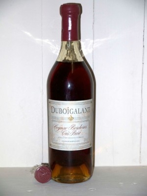 "Whisky millesime Cognac Borderies ""très rare"" Duboigalant"