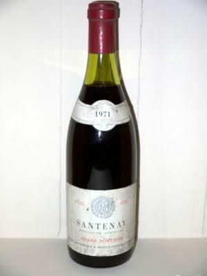 Santenay 1971 Pierre Fontaine