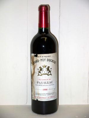 Château Grand Puy Ducasse 1998