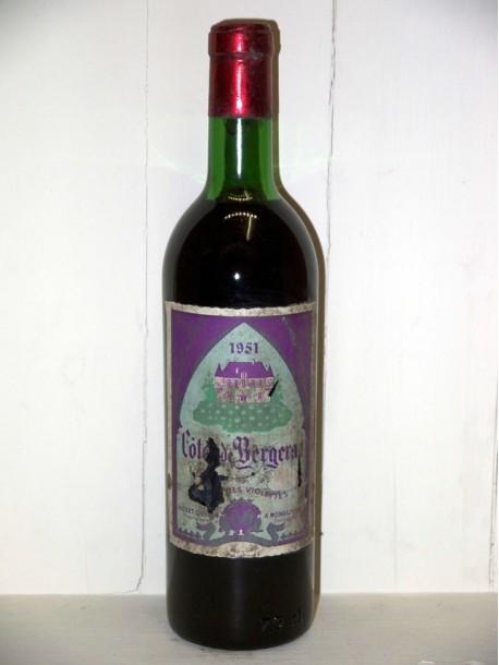 Le Clos des violettes Château de la Fonvieille 1951