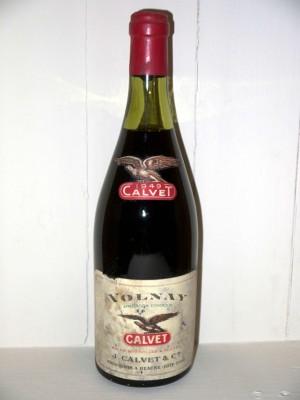 Grands vins Vosne-Romanée Volnay 1949 J Calvay