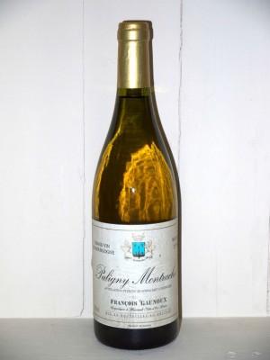 Grands crus Beaune - Savigny-les-Beaune Puligny Montrachet 1996 Domaine François Gaunoux
