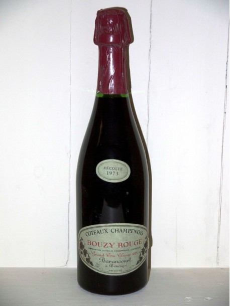 Coteaux Champenois 1973 Bouzy rouge Maison Barancourt
