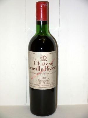 Grands vins Médoc Château Léoville Poyferré 1967