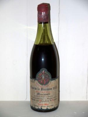 Meursault Clos de la baronne 1955 Maison Louis Max
