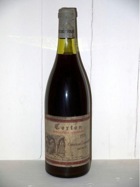 Corton 1976 Caves des Cordeliers