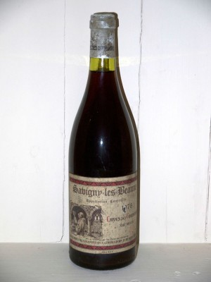 Grands crus Chambolle-Musigny Savigny-Les-Beaune 1976 Caves des Cordeliers