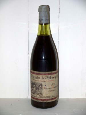 Grands crus Beaune - Savigny-les-Beaune Chambolle-Musigny 1976 Caves des Cordeliers