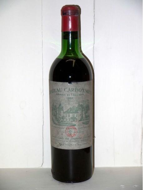 Château Carbonnieux 1961