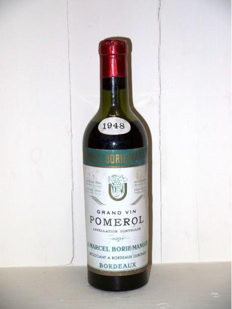 Pomerol 1948 J. Marcel Borie-Manoux