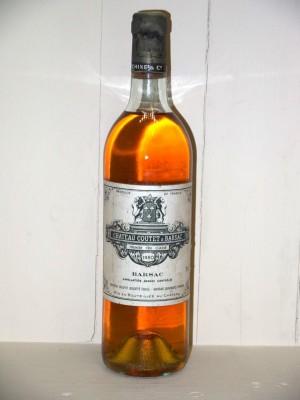 Grands crus Sauternes - Barsac - Loupiac Château Coutet 1980