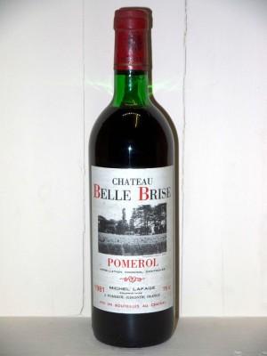 Château Belle Brise 1981
