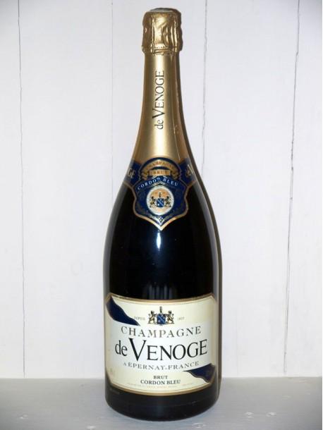 Magnum Champagne brut cordon bleu de Venoge