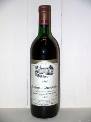 Château Chaigneau 1985