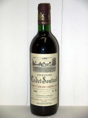 Grands crus Autres appellations de Bordeaux Château Cadet Soutard 1993