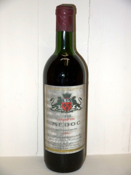 Grand vin de médoc 1959 H Brayel