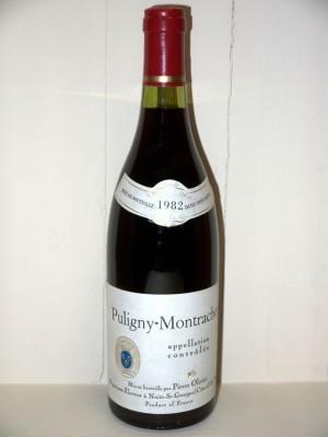 Puligny-Montrachet 1982 Pierre Olivier