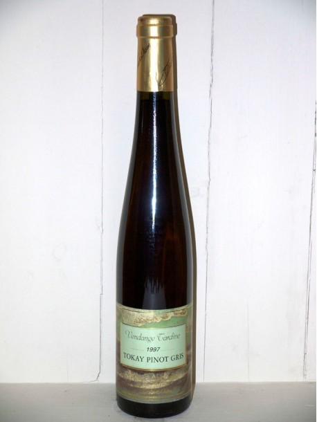 Tokay pinot gris vendange tardive 1997 Turckheim