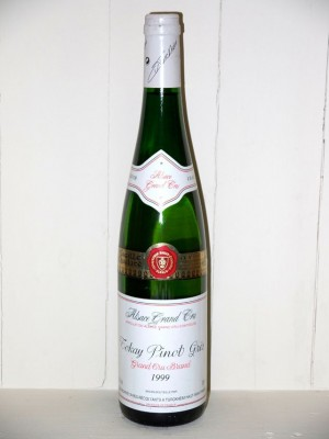Vins de collection Alsace Tokay pinot gris Grand Cru brand 1999 Turckheim