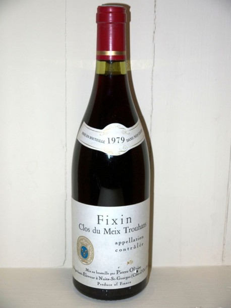 """Fixin """"Clos du meix trouhans"""" 1979 Pierre Olivier"""