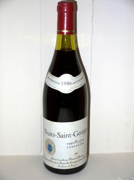 Nuits-Saint-Georges 1980 Pierre Olivier