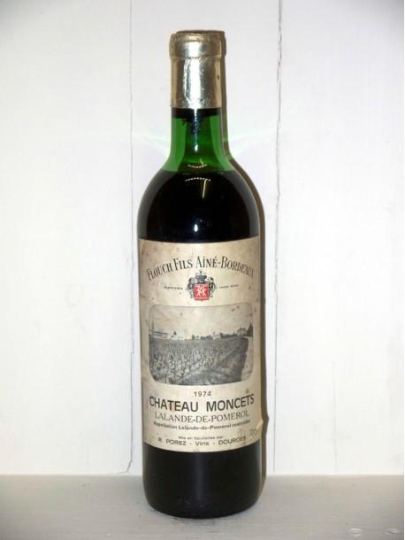 Château Moncets 1974