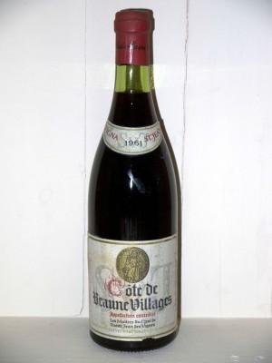 Côte de Beaune villages 1961 Les Maîtres du Chai de Saint Jean des Vignes